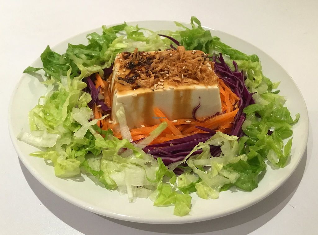 """Photo of Peace Cafe  by <a href=""""/members/profile/CherylQuincy"""">CherylQuincy</a> <br/>Tofu (Photo from Facebook page) <br/> March 17, 2018  - <a href='/contact/abuse/image/64160/371701'>Report</a>"""