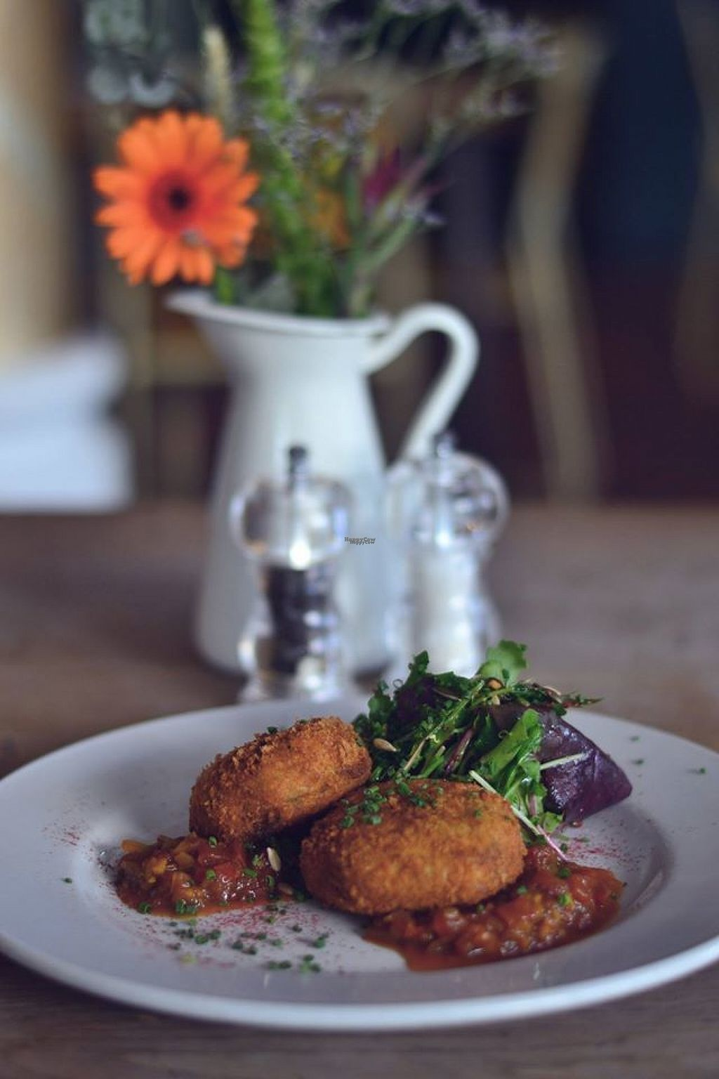 "Photo of No. 1 Harbourside  by <a href=""/members/profile/Meaks"">Meaks</a> <br/>Chickpea, almond and basil rissoles <br/> August 2, 2016  - <a href='/contact/abuse/image/64168/164718'>Report</a>"