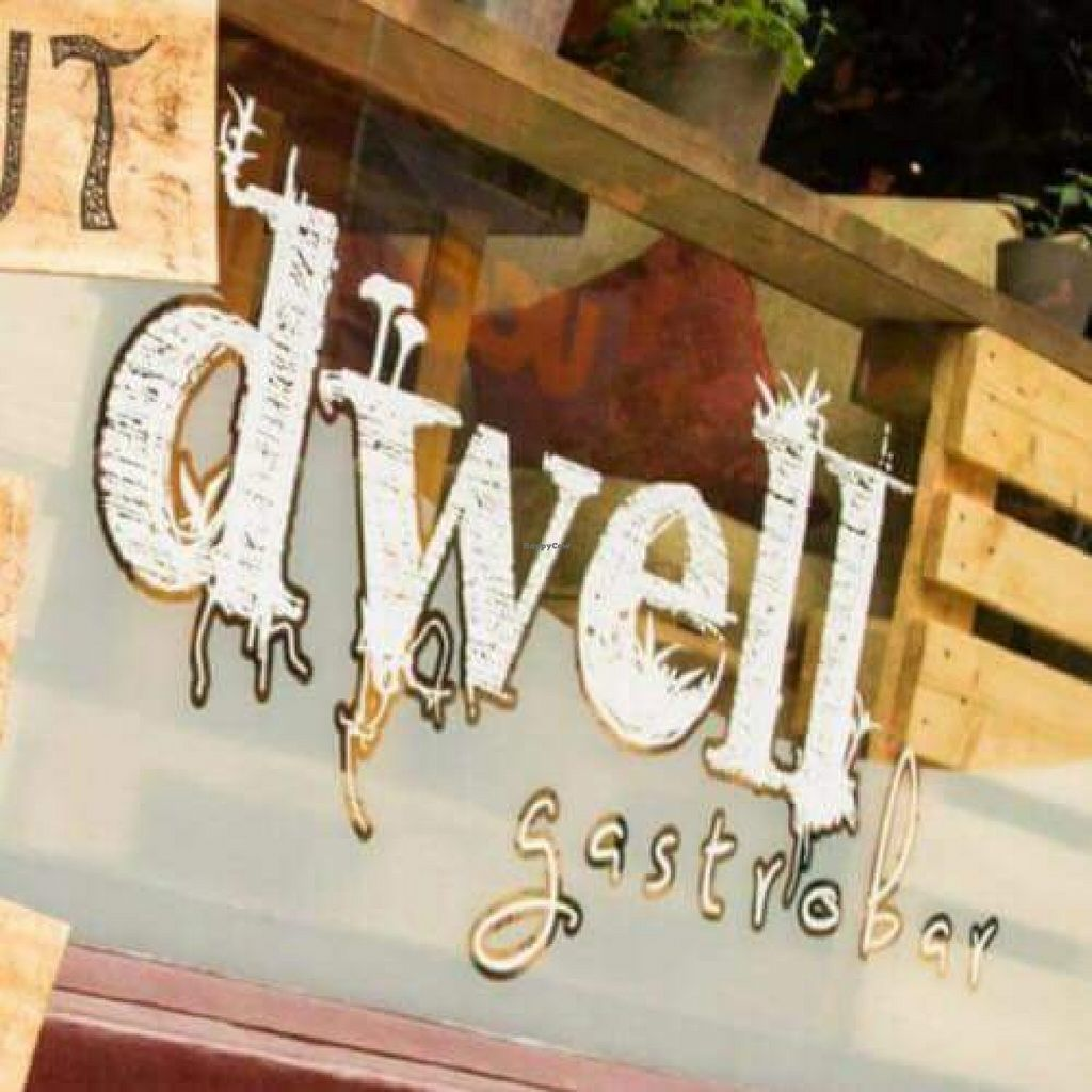 """Photo of CLOSED: Dwell Gastrobar  by <a href=""""/members/profile/Doomarella"""">Doomarella</a> <br/>Outside sign <br/> October 3, 2015  - <a href='/contact/abuse/image/64171/120132'>Report</a>"""