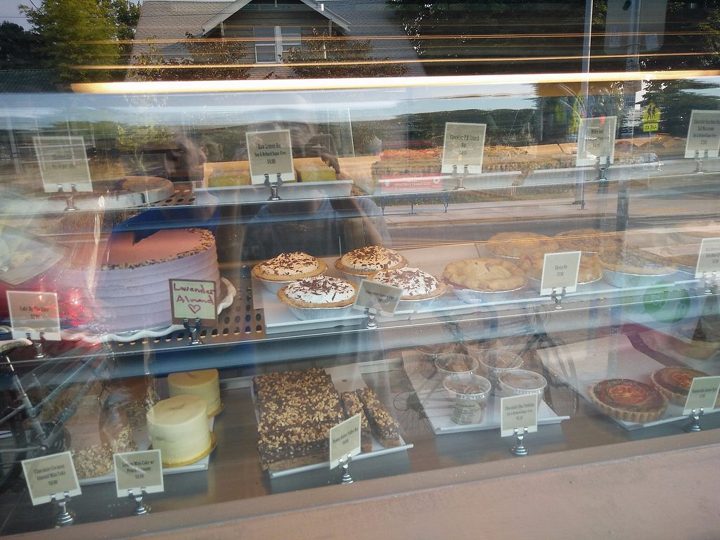 """Photo of Back to Eden Bakery - Food Cart  by <a href=""""/members/profile/martinicontomate"""">martinicontomate</a> <br/>wide vegan selection <br/> September 16, 2017  - <a href='/contact/abuse/image/64178/305067'>Report</a>"""