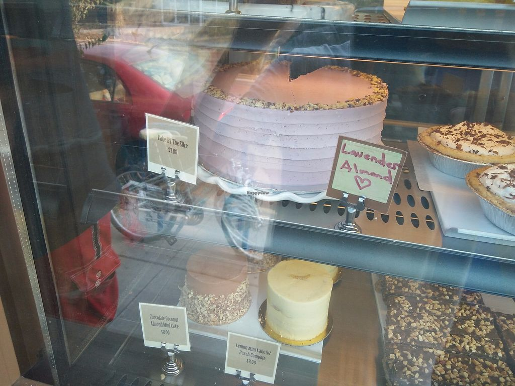 """Photo of Back to Eden Bakery - Food Cart  by <a href=""""/members/profile/martinicontomate"""">martinicontomate</a> <br/>lavender almond cake <br/> September 16, 2017  - <a href='/contact/abuse/image/64178/305070'>Report</a>"""