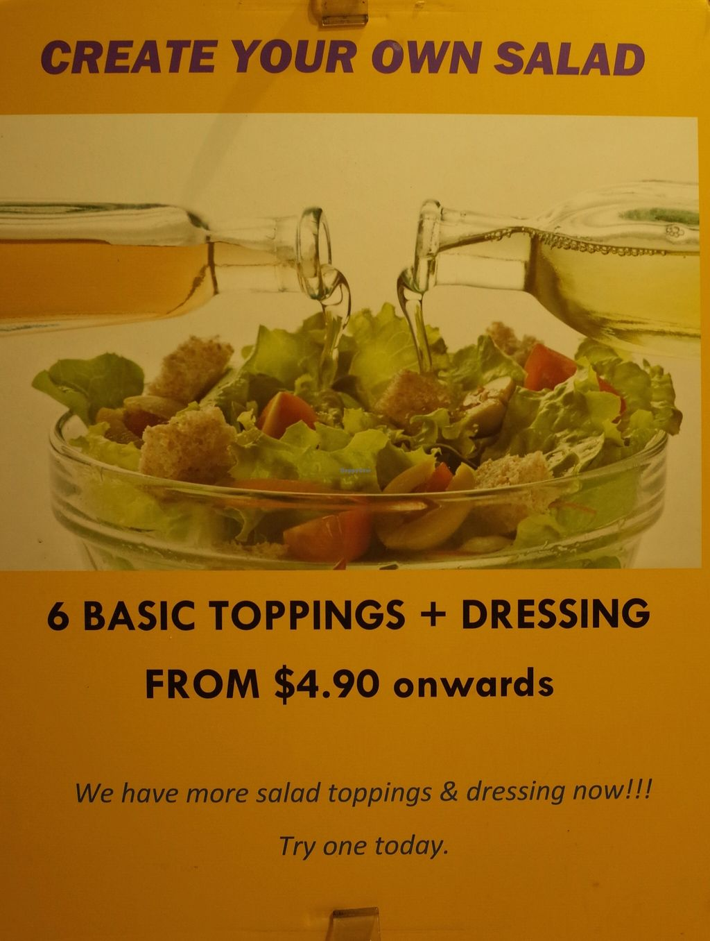 "Photo of The Salad Corner - Tanjong Pagar Plaza  by <a href=""/members/profile/ouikouik"">ouikouik</a> <br/>The Salad Corner - Tanjong Pagar Plaza  <br/> October 7, 2015  - <a href='/contact/abuse/image/64179/120596'>Report</a>"