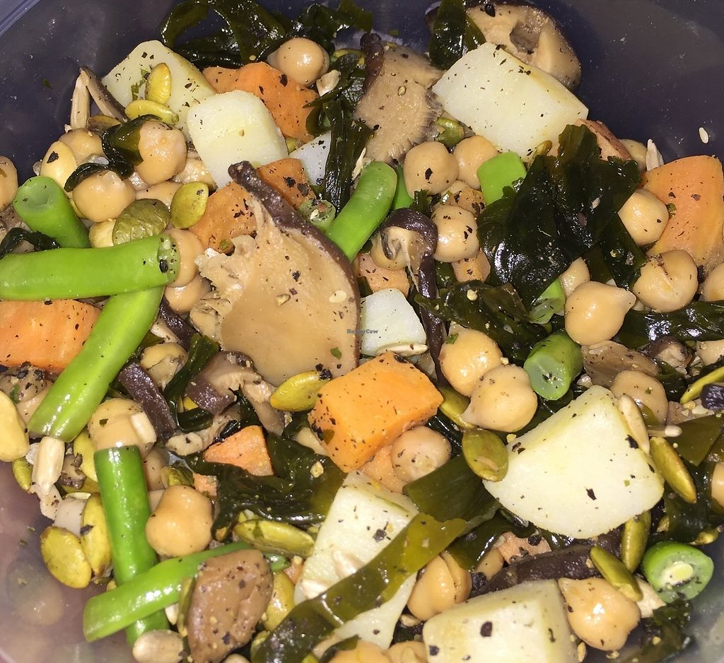 """Photo of The Salad Corner - Tanjong Pagar Plaza  by <a href=""""/members/profile/lindyhan"""">lindyhan</a> <br/>Choose 7 ingredients for $4.9 only! Potatoes, sweet potatoes, seaweed, long beans, mixed nuts, chickpeas, mushrooms. Yumz! <br/> March 10, 2018  - <a href='/contact/abuse/image/64179/368830'>Report</a>"""