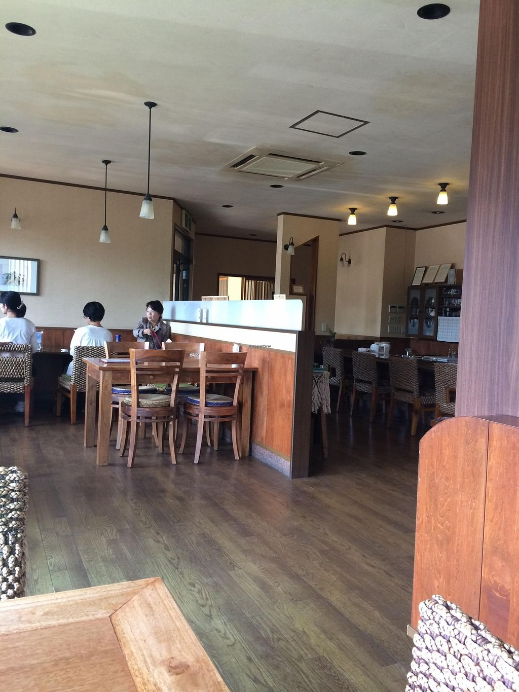 """Photo of Organic Cafe Kally  by <a href=""""/members/profile/Vegeiko"""">Vegeiko</a> <br/>Spacious place!! <br/> October 4, 2015  - <a href='/contact/abuse/image/64182/120228'>Report</a>"""