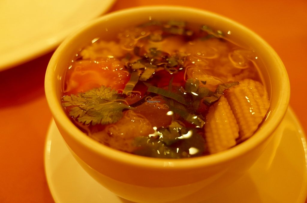 """Photo of Thanying Restaurant - Amara Hotel  by <a href=""""/members/profile/ouikouik"""">ouikouik</a> <br/>tom yam goong <br/> October 7, 2015  - <a href='/contact/abuse/image/64190/120598'>Report</a>"""