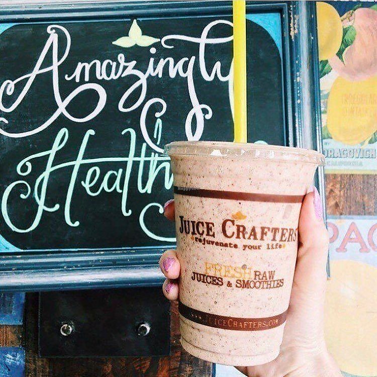 """Photo of Juice Crafters - Griffith Park  by <a href=""""/members/profile/JuiceCrafters"""">JuiceCrafters</a> <br/>Amazingly healthy!  PACIFIC LOVE – maca powder, cacao nibs, banana, almond butter, dates, coconut butter, almond milk, bee pollen & royal jelly <br/> December 11, 2017  - <a href='/contact/abuse/image/64213/334523'>Report</a>"""