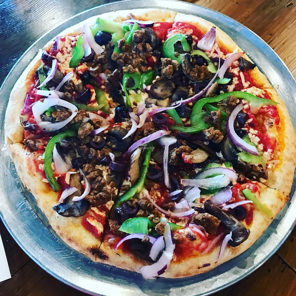 "Photo of Piaza Fresh  by <a href=""/members/profile/rmm1113"">rmm1113</a> <br/>delicious vegan pizza <br/> July 14, 2017  - <a href='/contact/abuse/image/64237/280257'>Report</a>"