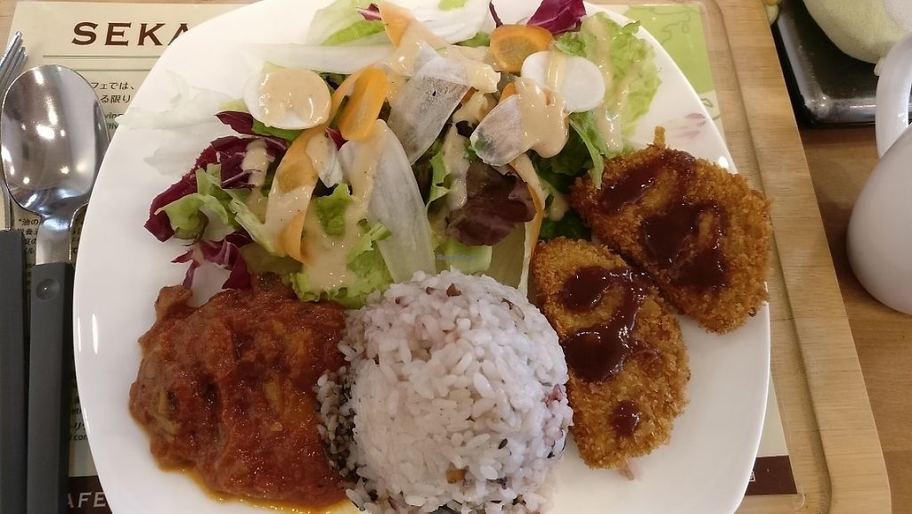 """Photo of Sekai Cafe   by <a href=""""/members/profile/JohnnieMeijer"""">JohnnieMeijer</a> <br/>This was really good!  <br/> May 6, 2017  - <a href='/contact/abuse/image/64245/256109'>Report</a>"""