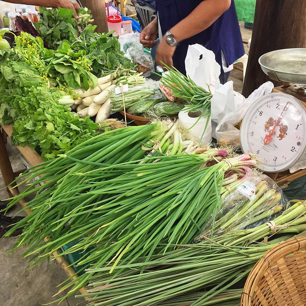 """Photo of Organic Farmers' Market Chiang Mai  by <a href=""""/members/profile/MyVeganJoy"""">MyVeganJoy</a> <br/>affordable, local, organic  <br/> February 12, 2017  - <a href='/contact/abuse/image/6424/225661'>Report</a>"""