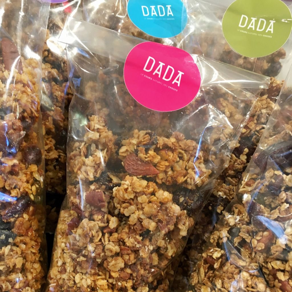 """Photo of Dada Paradis Biocoop  by <a href=""""/members/profile/Mlaure"""">Mlaure</a> <br/>home made granola gluten Free  <br/> August 6, 2016  - <a href='/contact/abuse/image/64253/166136'>Report</a>"""