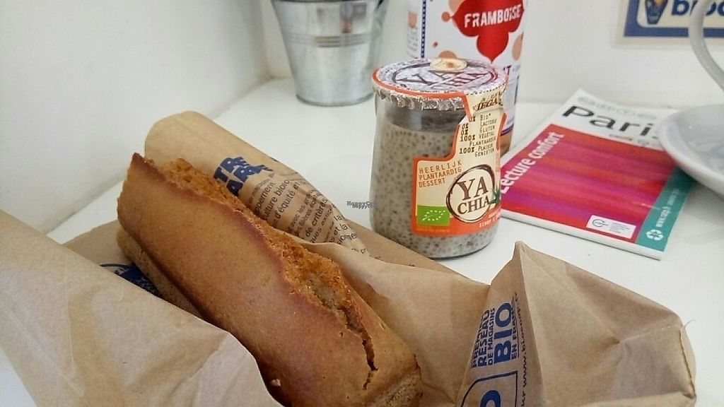 """Photo of Dada Paradis Biocoop  by <a href=""""/members/profile/Tomsha"""">Tomsha</a> <br/>they have amazing things . I took gf bread , kumbucha and chia porridge !!!  <br/> December 7, 2016  - <a href='/contact/abuse/image/64253/198021'>Report</a>"""