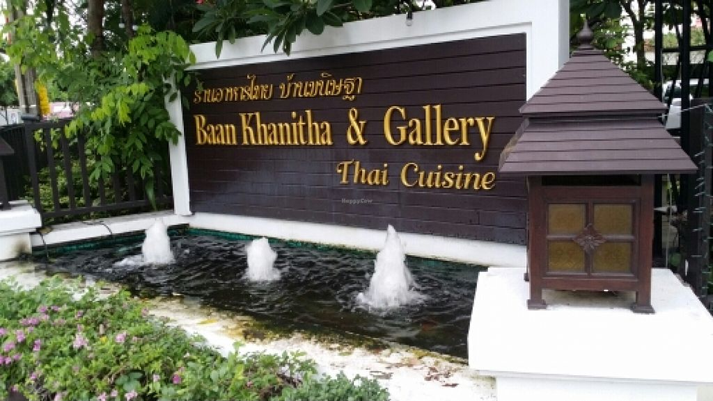 """Photo of Baan Kanitha  by <a href=""""/members/profile/yehadut"""">yehadut</a> <br/>sign in front <br/> October 9, 2015  - <a href='/contact/abuse/image/64262/120700'>Report</a>"""