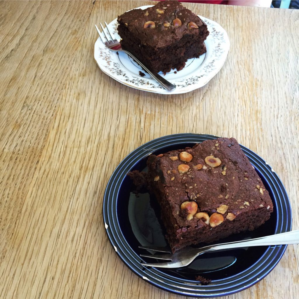 """Photo of Oak Street Cafe  by <a href=""""/members/profile/LittleAliceFell"""">LittleAliceFell</a> <br/>Gorgeous brownies! <br/> July 27, 2016  - <a href='/contact/abuse/image/64268/162779'>Report</a>"""