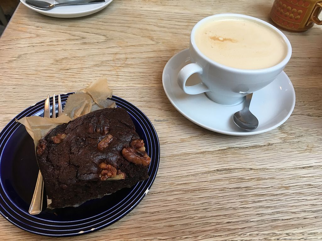 """Photo of Oak Street Cafe  by <a href=""""/members/profile/Misanthropia"""">Misanthropia</a> <br/>Super juicy and nutty brownie :3  <br/> January 11, 2018  - <a href='/contact/abuse/image/64268/345431'>Report</a>"""