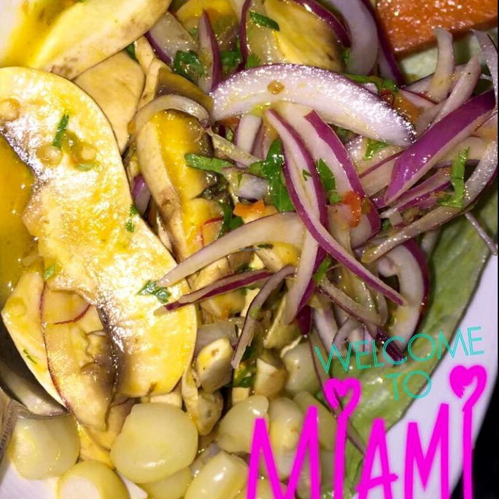 """Photo of Merkado 31  by <a href=""""/members/profile/VeganFlightAttendant"""">VeganFlightAttendant</a> <br/>Mishroom Ceviche <br/> May 6, 2016  - <a href='/contact/abuse/image/64279/147778'>Report</a>"""