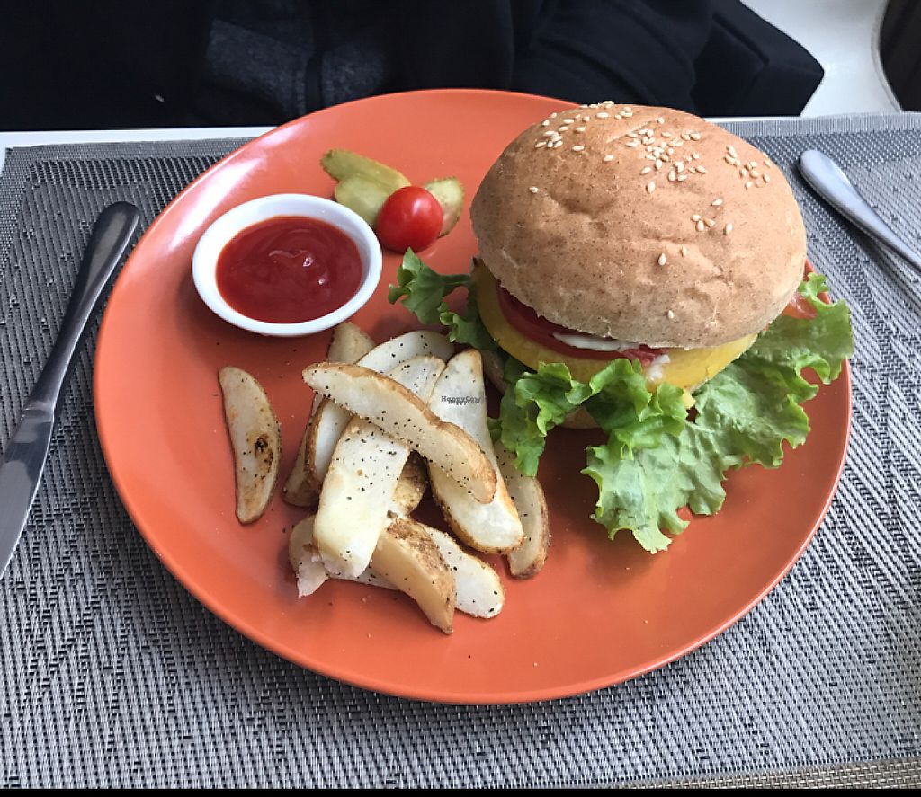 """Photo of Cloud Kitchen  by <a href=""""/members/profile/lindseymiller"""">lindseymiller</a> <br/>porkchop burger! <br/> April 12, 2017  - <a href='/contact/abuse/image/64283/247355'>Report</a>"""