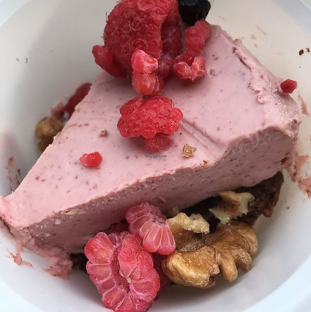 """Photo of Cloud Kitchen  by <a href=""""/members/profile/SuBravo"""">SuBravo</a> <br/>cheese cake in a take away container :) very nice! <br/> June 7, 2017  - <a href='/contact/abuse/image/64283/266584'>Report</a>"""
