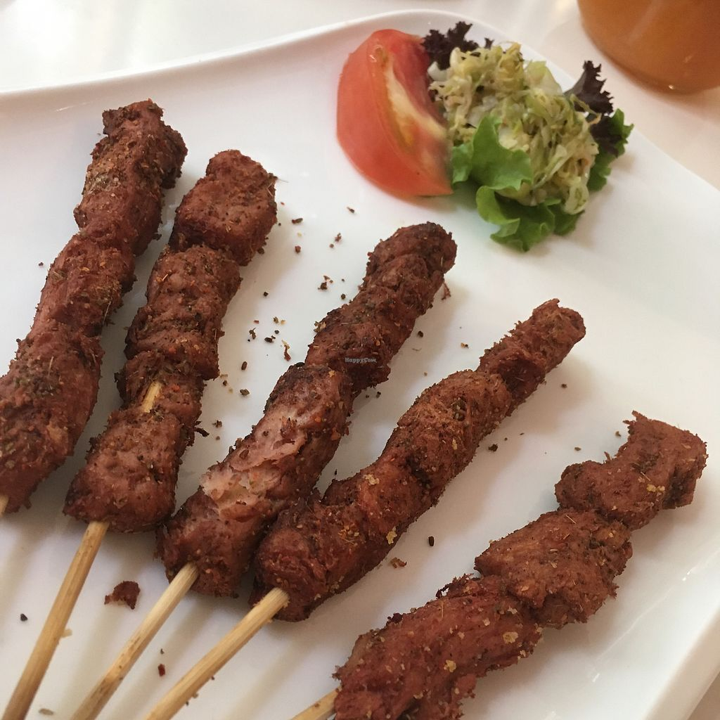 """Photo of Cloud Kitchen  by <a href=""""/members/profile/SuBravo"""">SuBravo</a> <br/>lamb sticks <br/> July 11, 2017  - <a href='/contact/abuse/image/64283/279042'>Report</a>"""