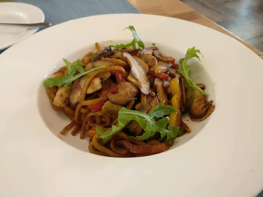 """Photo of Cloud Kitchen  by <a href=""""/members/profile/TzlilZered"""">TzlilZered</a> <br/>mushroom spaghetti <br/> September 1, 2017  - <a href='/contact/abuse/image/64283/299602'>Report</a>"""