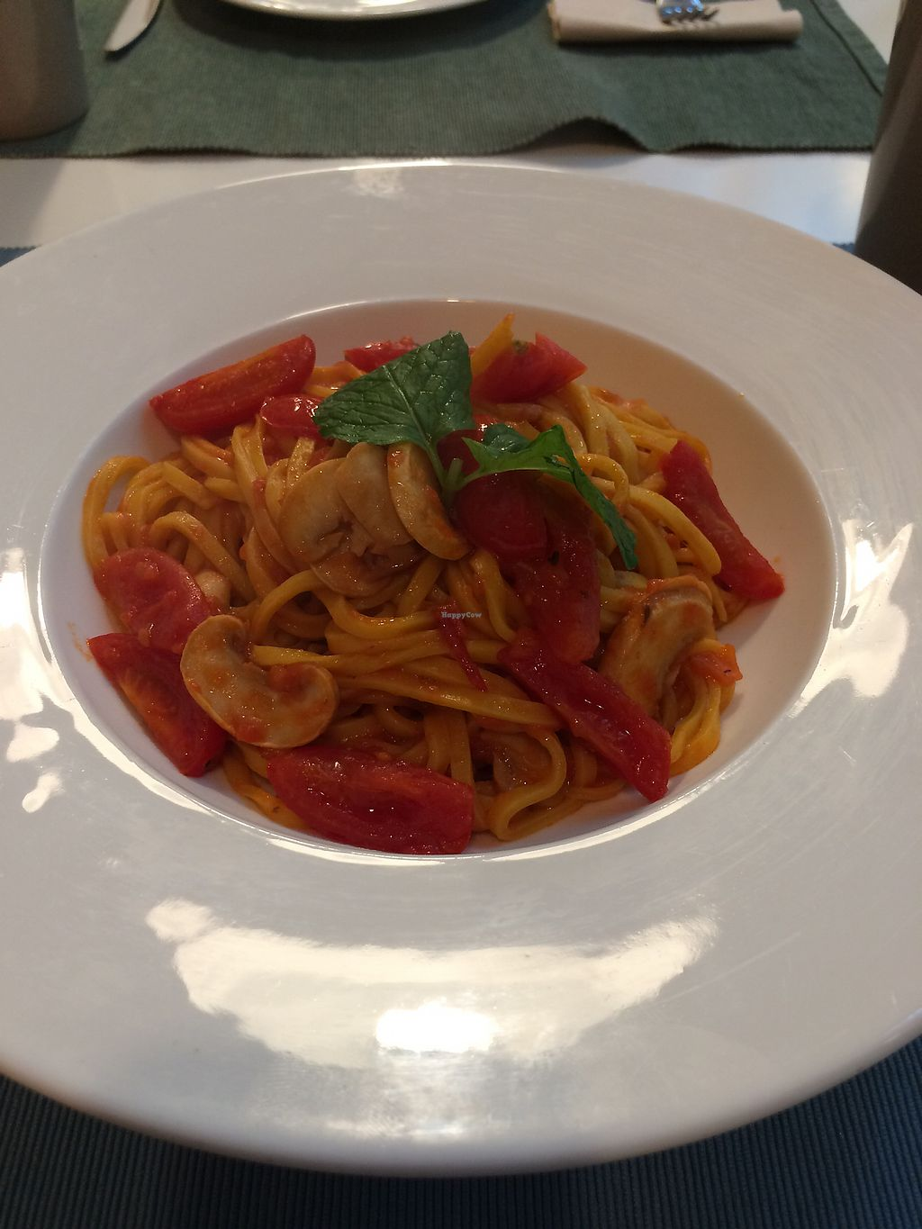 """Photo of Cloud Kitchen  by <a href=""""/members/profile/Italian.vegan"""">Italian.vegan</a> <br/>Tomato pasta <br/> October 10, 2017  - <a href='/contact/abuse/image/64283/313927'>Report</a>"""