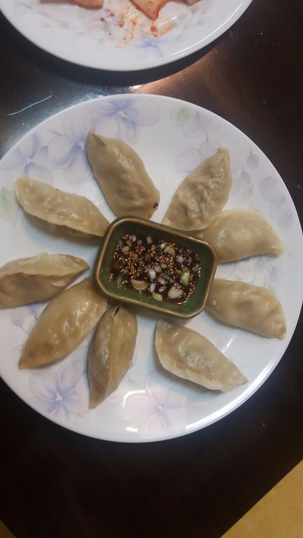 """Photo of Chorokddeul - Green Field - 초록뜰식당  by <a href=""""/members/profile/rburrke"""">rburrke</a> <br/>Dumplings <br/> October 10, 2016  - <a href='/contact/abuse/image/64286/180951'>Report</a>"""