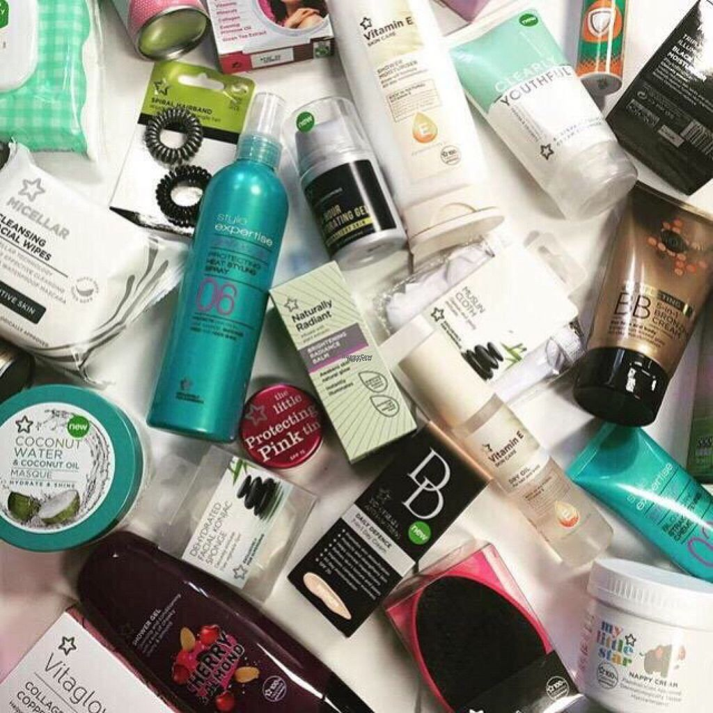 """Photo of Superdrug  by <a href=""""/members/profile/CiaraSlevin"""">CiaraSlevin</a> <br/>Superdrug own-brand vegetarian, vegan & cruelty free products   <br/> August 23, 2016  - <a href='/contact/abuse/image/64301/171139'>Report</a>"""