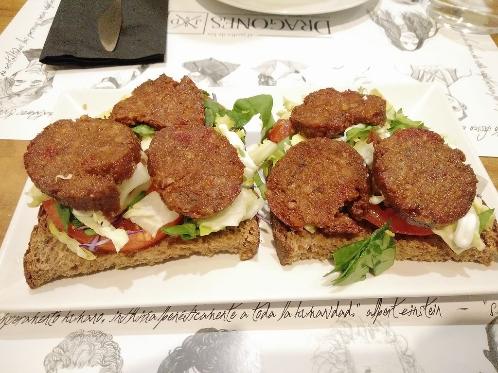 """Photo of El Jardin de los Dragones  by <a href=""""/members/profile/martinicontomate"""">martinicontomate</a> <br/>sandwich with homemade sausage <br/> March 17, 2018  - <a href='/contact/abuse/image/64325/372159'>Report</a>"""