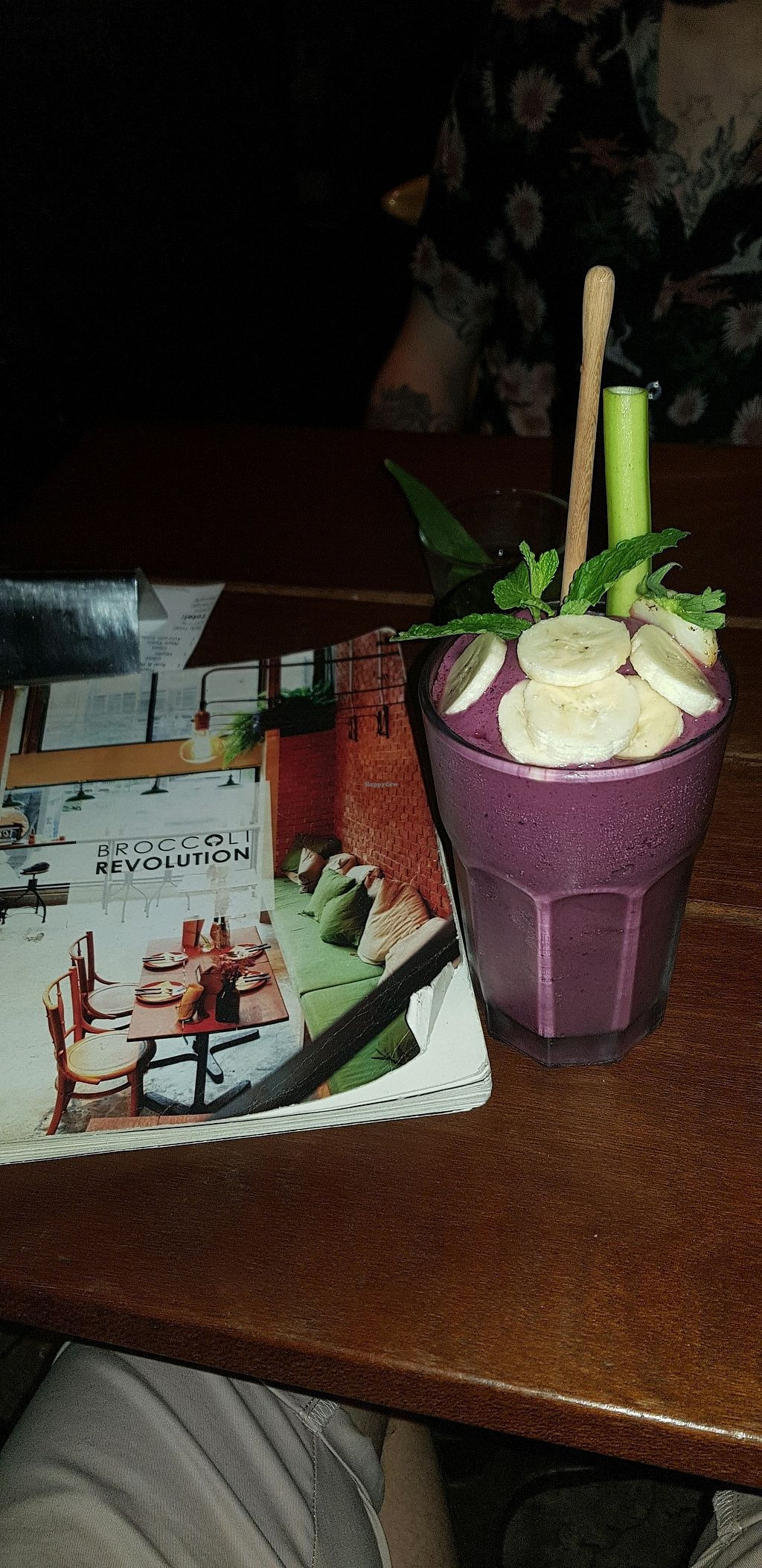 """Photo of Broccoli Revolution - Sukhumvit Rd  by <a href=""""/members/profile/AliMac84"""">AliMac84</a> <br/>acai smoothie <br/> March 21, 2018  - <a href='/contact/abuse/image/64334/373859'>Report</a>"""