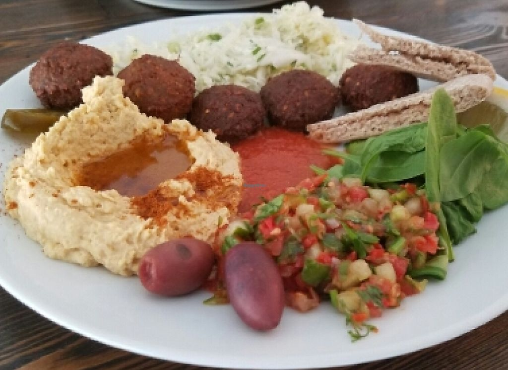 "Photo of Zatar Falafel & Hummus  by <a href=""/members/profile/kenvegan"">kenvegan</a> <br/>falafel plate <br/> May 28, 2016  - <a href='/contact/abuse/image/64339/238496'>Report</a>"