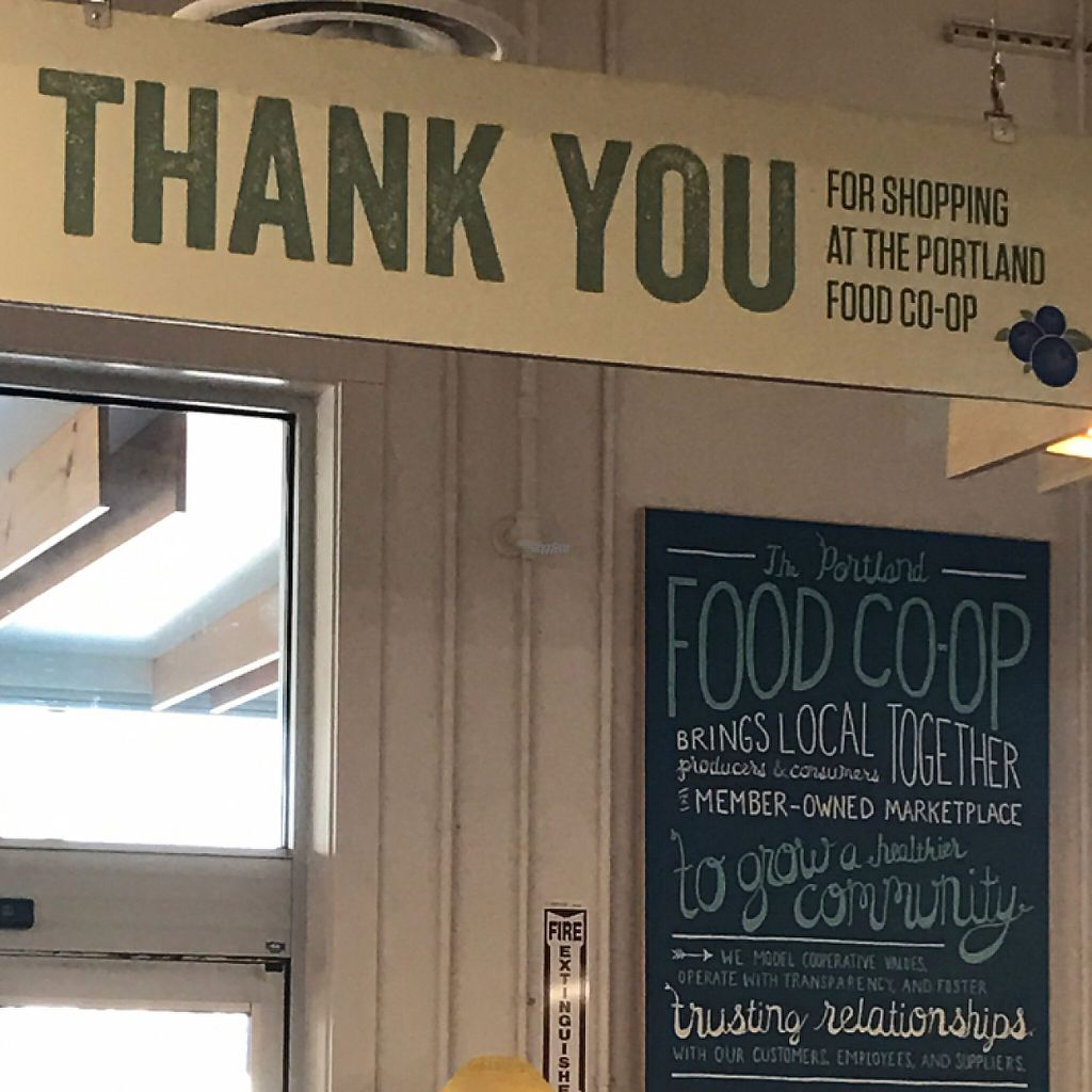 "Photo of Portland Food Co-op  by <a href=""/members/profile/Sarah%20P"">Sarah P</a> <br/>greeting <br/> March 26, 2017  - <a href='/contact/abuse/image/64353/241029'>Report</a>"