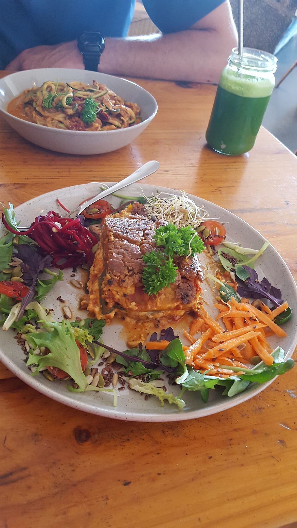 "Photo of The Alkaline Cafe  by <a href=""/members/profile/SarahElisabet"">SarahElisabet</a> <br/>Vegan lasagne <br/> November 7, 2017  - <a href='/contact/abuse/image/64365/322924'>Report</a>"