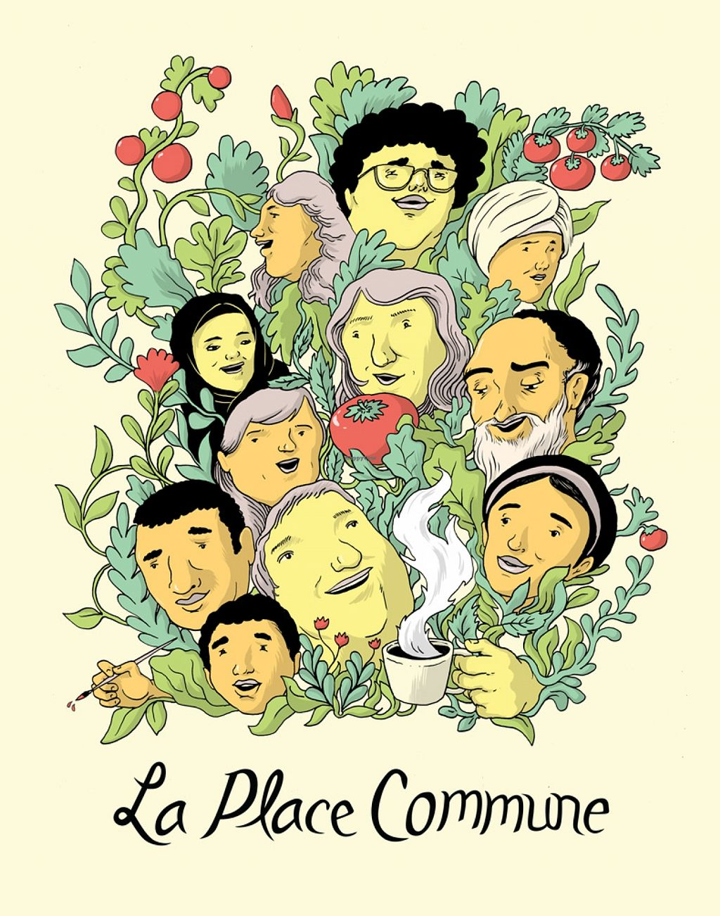 """Photo of La Place Commune  by <a href=""""/members/profile/laplacecommune"""">laplacecommune</a> <br/>poster by Jonathan Dyck <br/> October 11, 2015  - <a href='/contact/abuse/image/64372/120970'>Report</a>"""