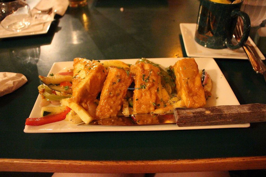 "Photo of Bullwinkle's Saloon & Eatery  by <a href=""/members/profile/Drhannahj"">Drhannahj</a> <br/>Curried Tofu <br/> August 6, 2017  - <a href='/contact/abuse/image/64375/289742'>Report</a>"