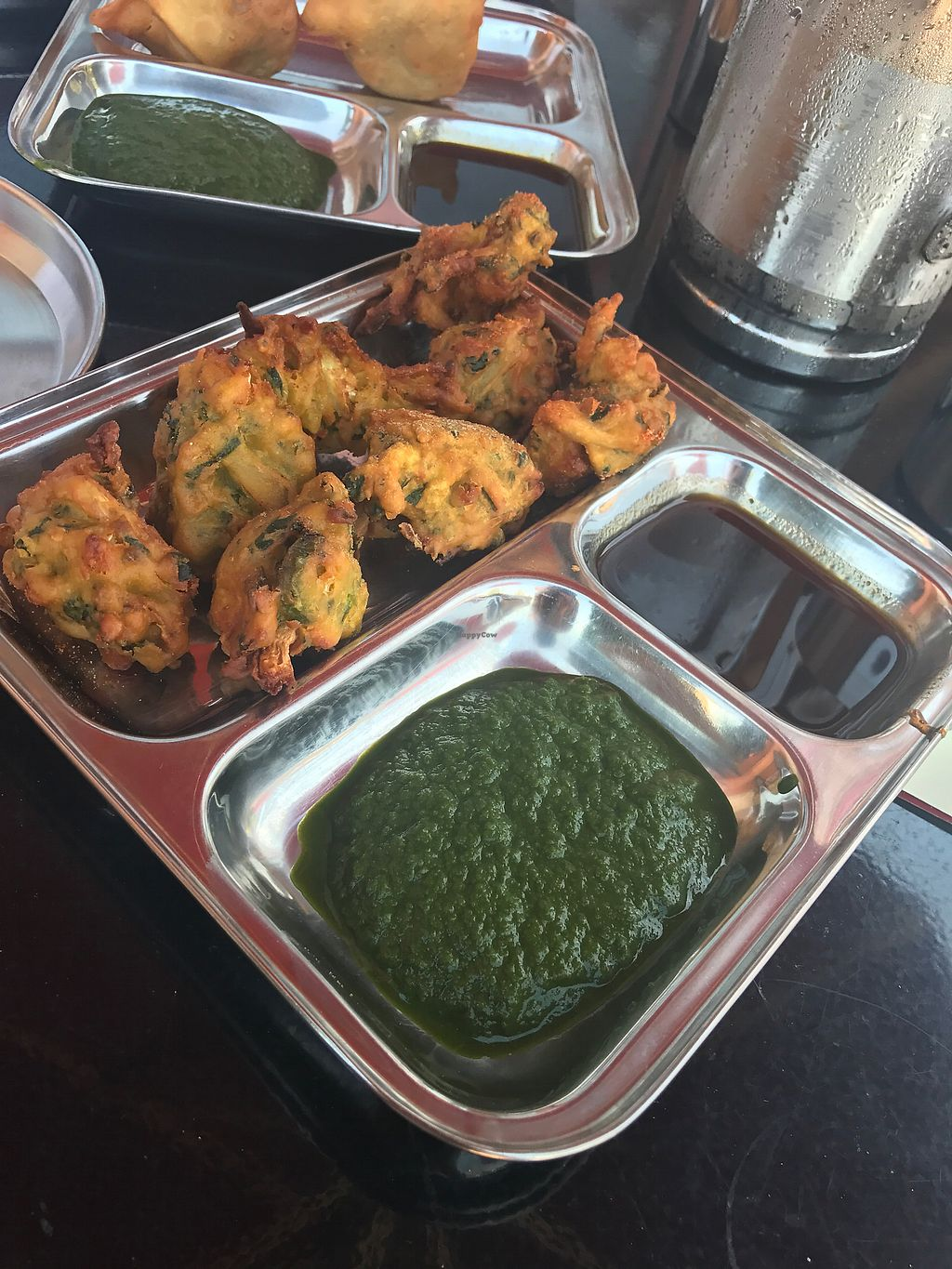 """Photo of Chaat Paradise  by <a href=""""/members/profile/Breda"""">Breda</a> <br/>vegan mixed pakora <br/> August 13, 2017  - <a href='/contact/abuse/image/64385/292176'>Report</a>"""