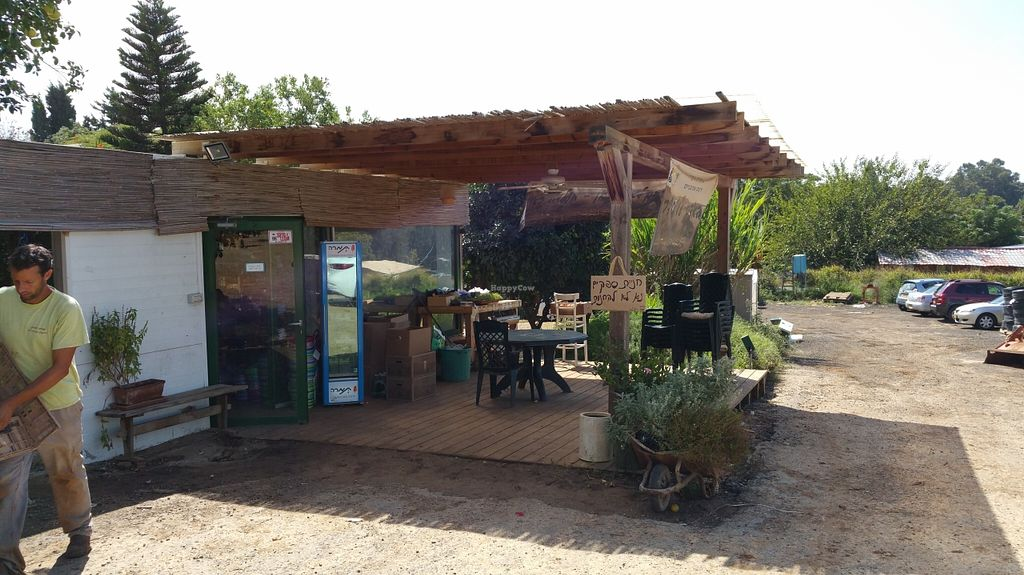 """Photo of Sadeh Yarok Organic Farm Shop  by <a href=""""/members/profile/Brok%20O.%20Lee"""">Brok O. Lee</a> <br/>Outside entrance <br/> October 11, 2015  - <a href='/contact/abuse/image/64397/121000'>Report</a>"""