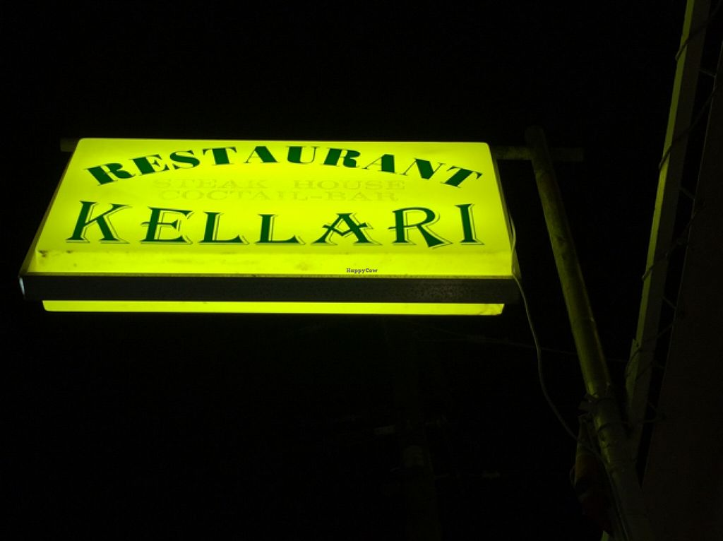 """Photo of Kellari  by <a href=""""/members/profile/Pocoheywood"""">Pocoheywood</a> <br/>The restaurant sign <br/> October 13, 2015  - <a href='/contact/abuse/image/64400/121235'>Report</a>"""