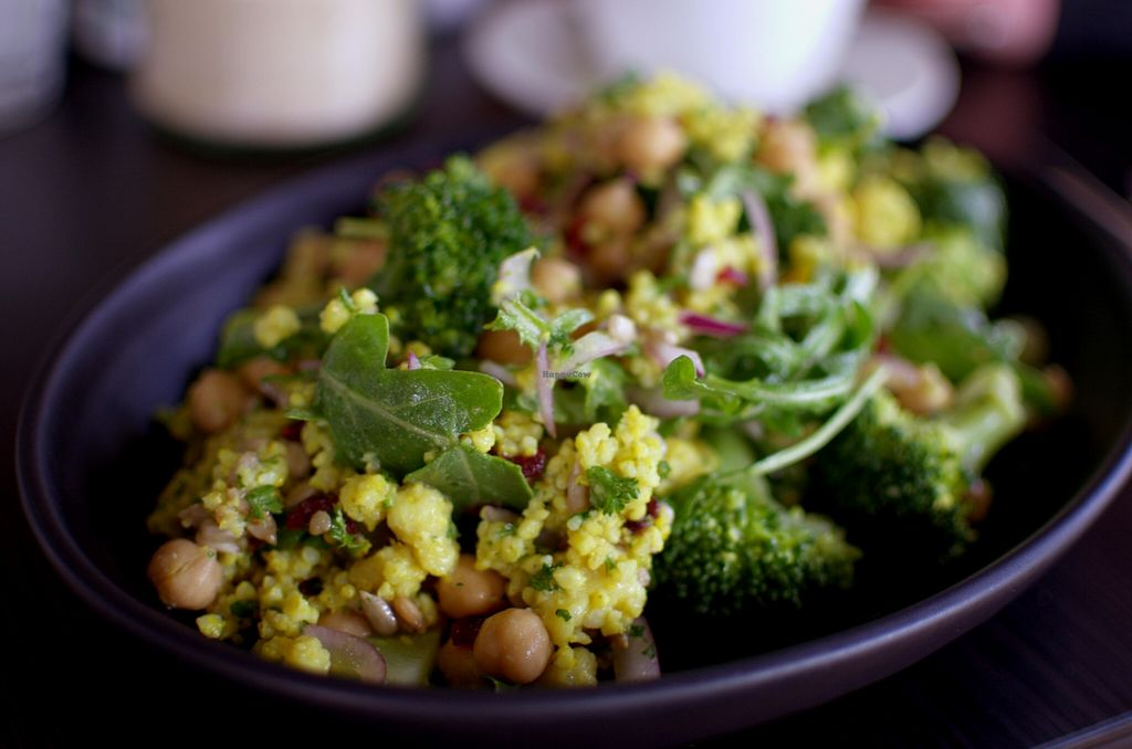 "Photo of CLOSED: Organik Lane  by <a href=""/members/profile/chocoholicPhilosophe"">chocoholicPhilosophe</a> <br/>Broccoli, chickpea and millet salad <br/> October 26, 2015  - <a href='/contact/abuse/image/64431/122758'>Report</a>"