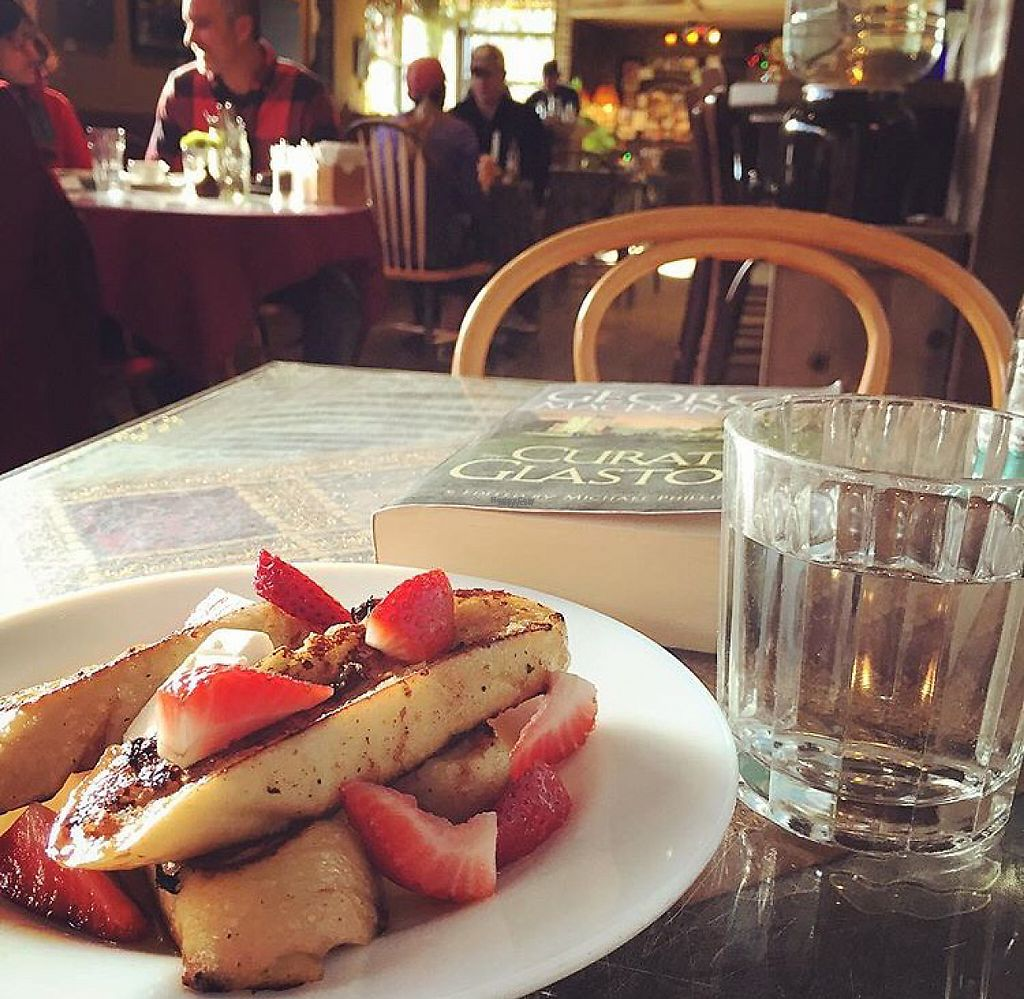 "Photo of Beautiful Day Cafe  by <a href=""/members/profile/MaddyR"">MaddyR</a> <br/>Vegan French Toast <br/> March 4, 2017  - <a href='/contact/abuse/image/64442/232403'>Report</a>"