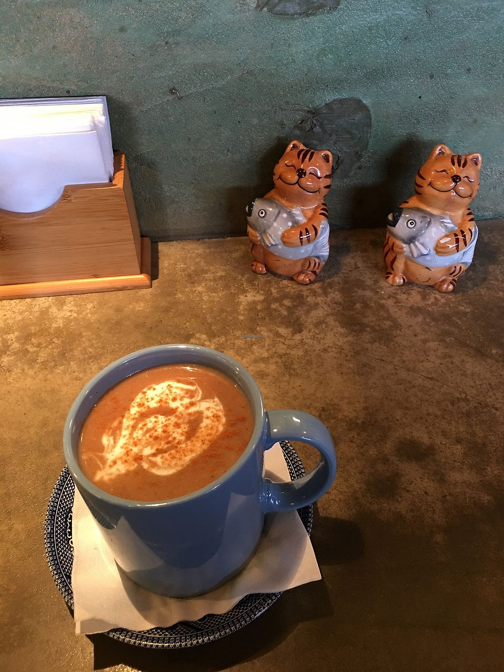 "Photo of Beautiful Day Cafe  by <a href=""/members/profile/lvasquared"">lvasquared</a> <br/>Vegan champurrado! <br/> January 19, 2018  - <a href='/contact/abuse/image/64442/348461'>Report</a>"