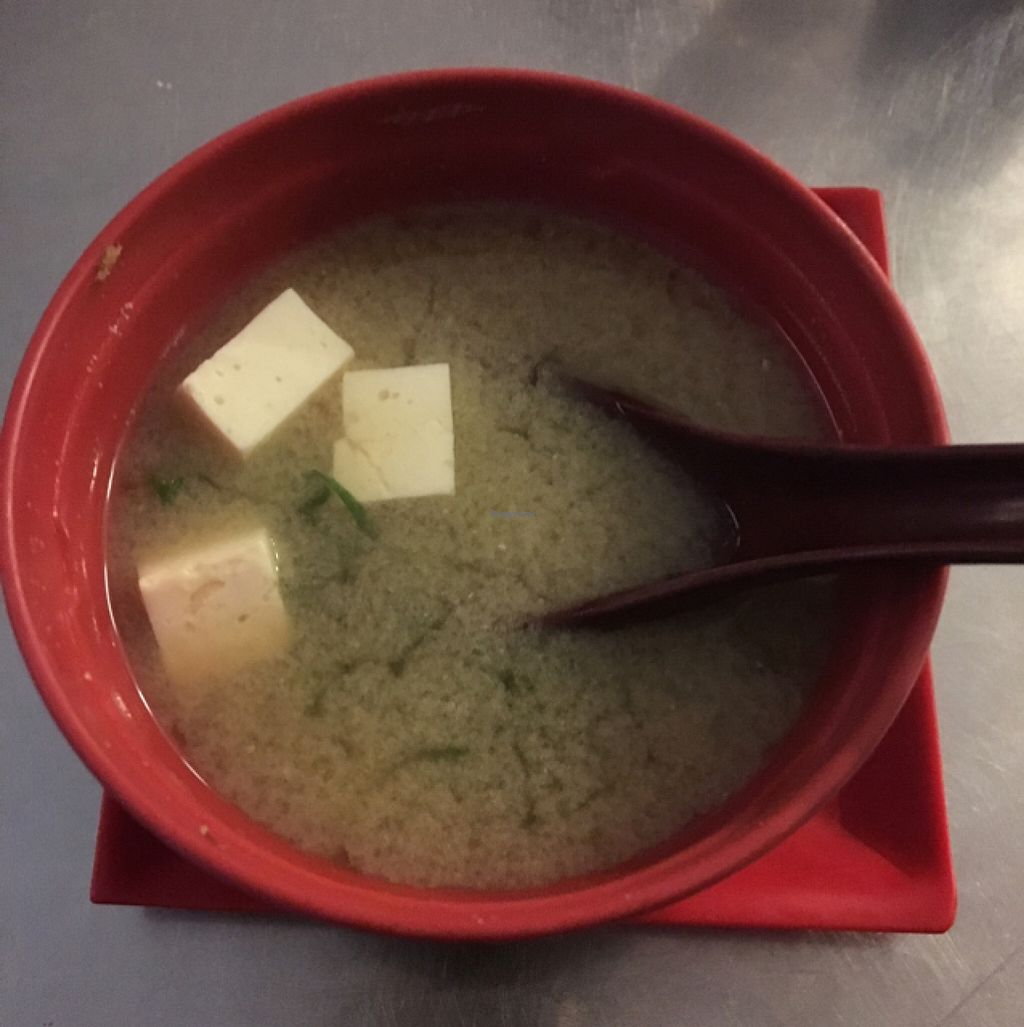 """Photo of Lapamaki - Lapa  by <a href=""""/members/profile/manic-organic"""">manic-organic</a> <br/>Vegetarian miso soup  <br/> October 23, 2015  - <a href='/contact/abuse/image/64470/122341'>Report</a>"""