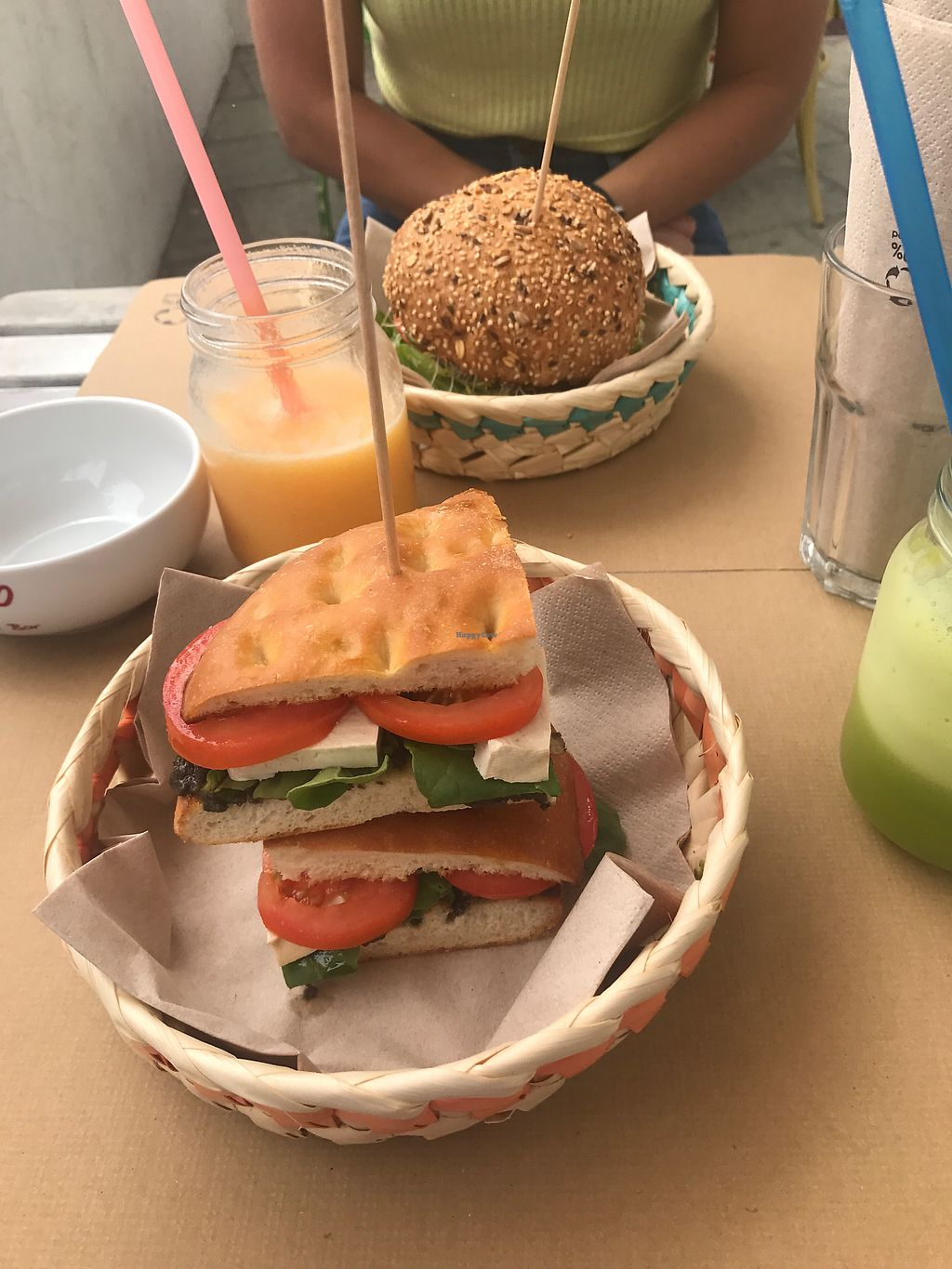 "Photo of H2O Juice Bar & Vegan Cafe  by <a href=""/members/profile/chloedaydream"">chloedaydream</a> <br/>tofu sandwich  <br/> September 2, 2017  - <a href='/contact/abuse/image/64475/300183'>Report</a>"