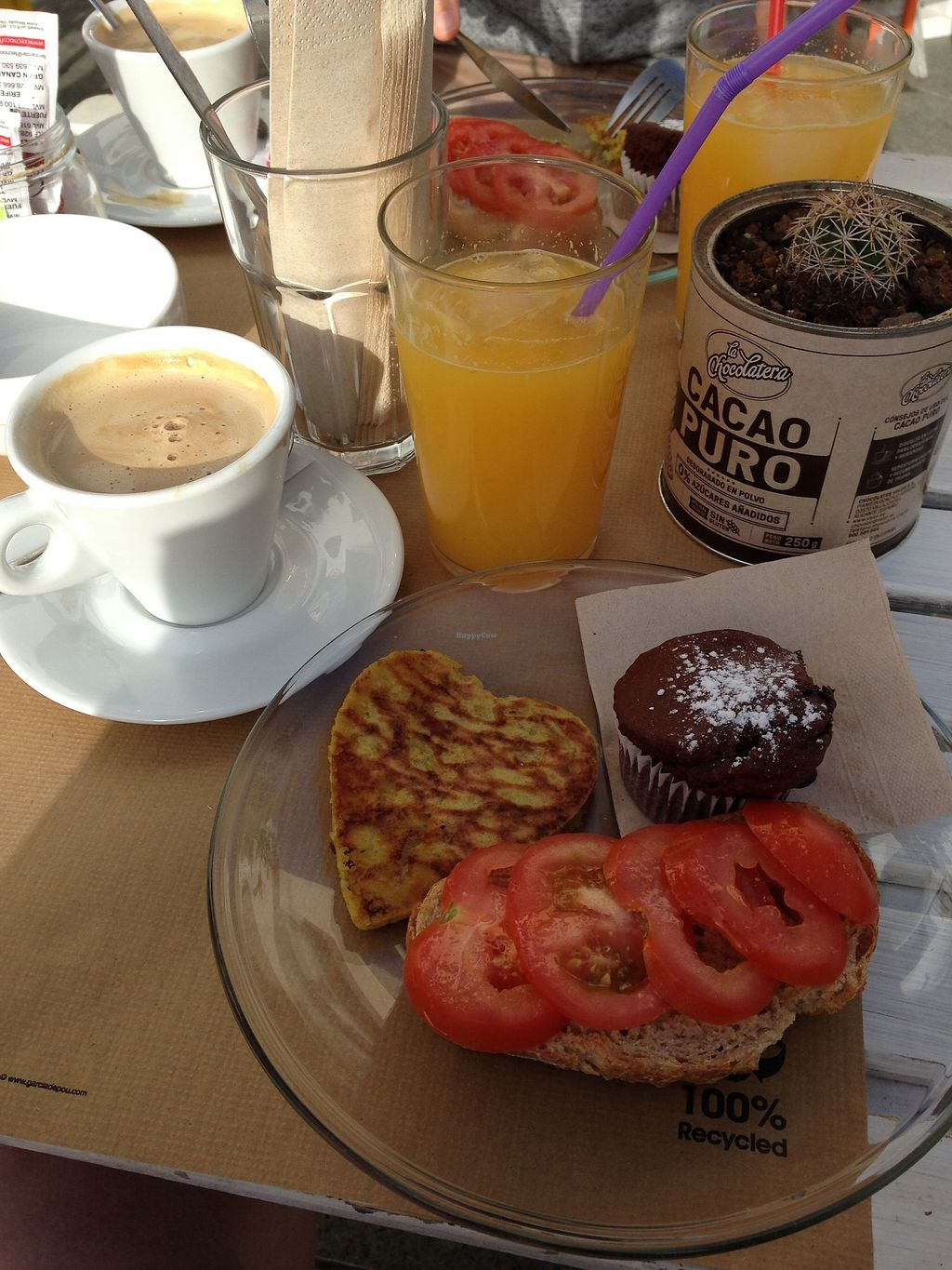 "Photo of H2O Juice Bar & Vegan Cafe  by <a href=""/members/profile/planteatingem"">planteatingem</a> <br/>Viva vegan breakfast <br/> January 22, 2018  - <a href='/contact/abuse/image/64475/349717'>Report</a>"