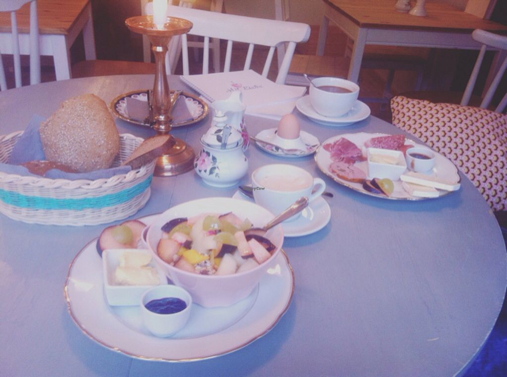 """Photo of Mit Liebe - Kreativcafe   by <a href=""""/members/profile/Linsen"""">Linsen</a> <br/>Left: vegan breakfast  <br/> October 21, 2015  - <a href='/contact/abuse/image/64478/122030'>Report</a>"""