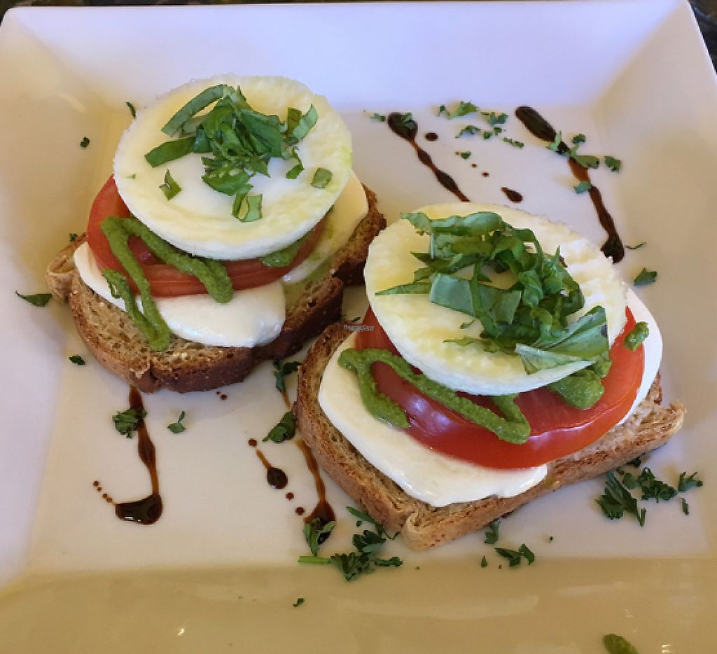 """Photo of Love Yourself Cafe  by <a href=""""/members/profile/Yummm"""">Yummm</a> <br/>Caprese Eggs Benedict <br/> October 15, 2016  - <a href='/contact/abuse/image/64491/209287'>Report</a>"""