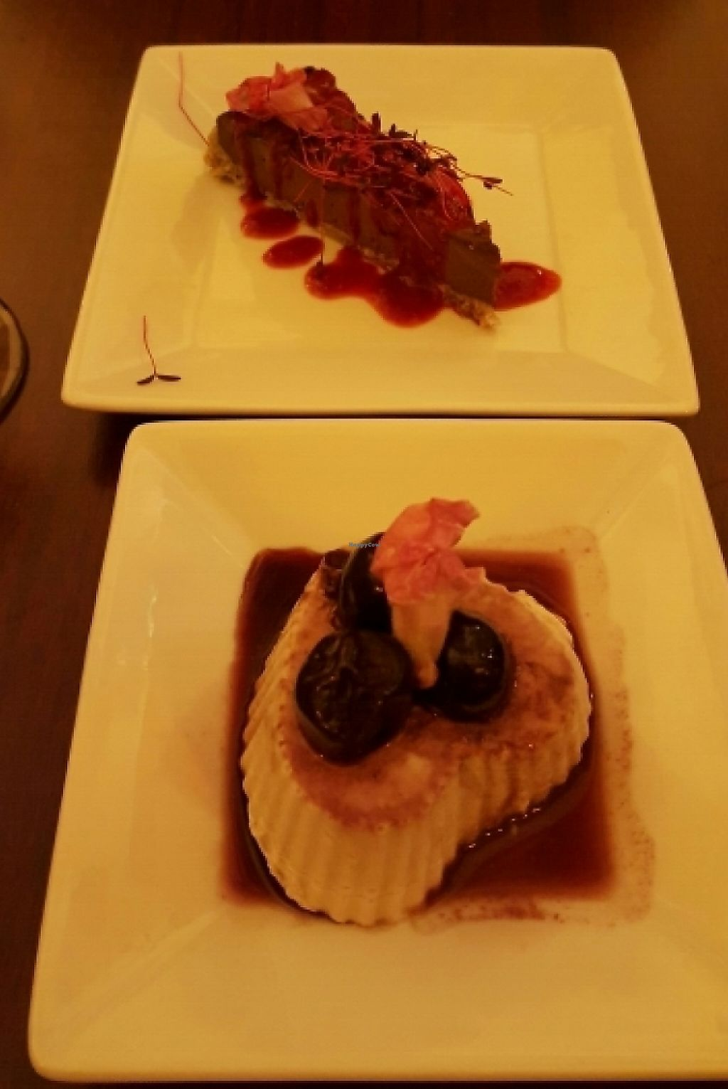 """Photo of Love Yourself Cafe  by <a href=""""/members/profile/LisaVegan77"""">LisaVegan77</a> <br/>Valentine's Day desserts <br/> February 17, 2016  - <a href='/contact/abuse/image/64491/209293'>Report</a>"""