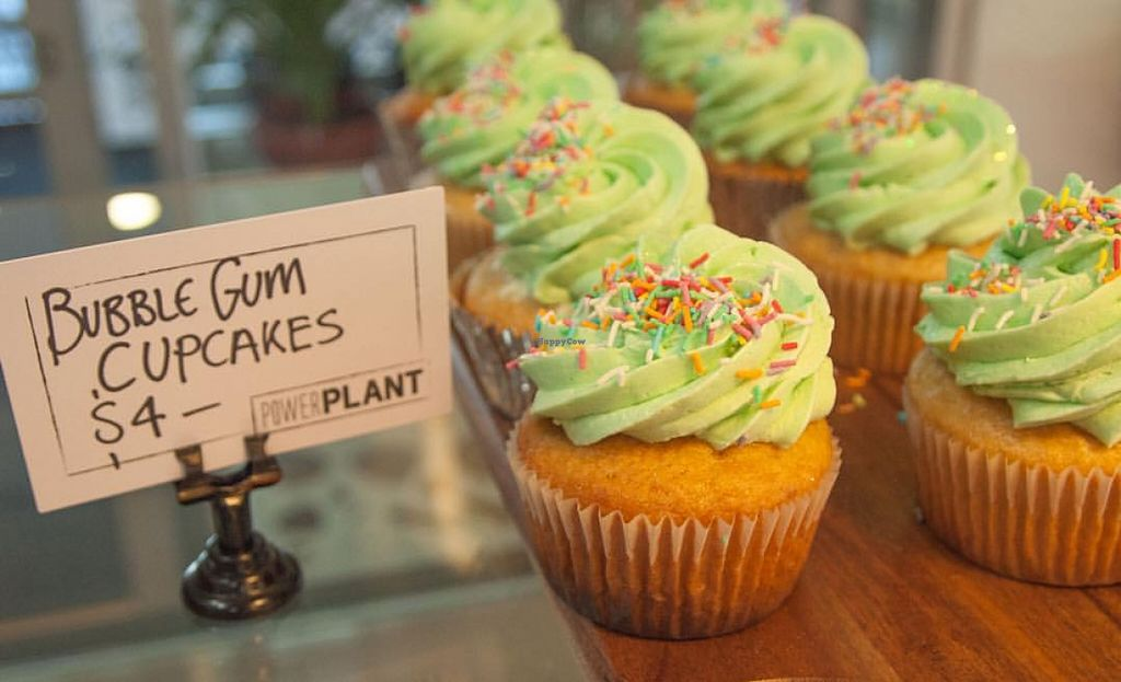 "Photo of Power Plant Cafe  by <a href=""/members/profile/PowerPlant"">PowerPlant</a> <br/>Bubble Gum Cupcake <br/> October 27, 2015  - <a href='/contact/abuse/image/64495/122840'>Report</a>"