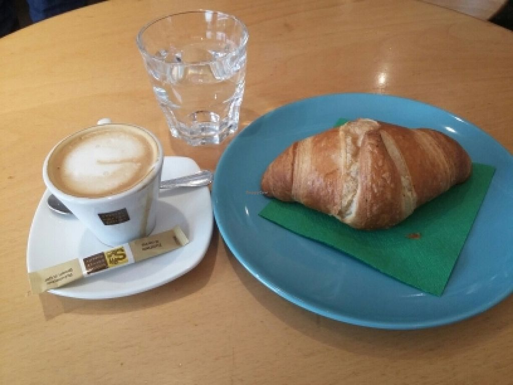 """Photo of Alte Muhle  by <a href=""""/members/profile/martins.diary"""">martins.diary</a> <br/>ein guter macchiato mit soyamilch und dazu ein veganes crossaint. a good macchiato with soymilk and to a vegan crossaint <br/> March 30, 2016  - <a href='/contact/abuse/image/64497/141855'>Report</a>"""