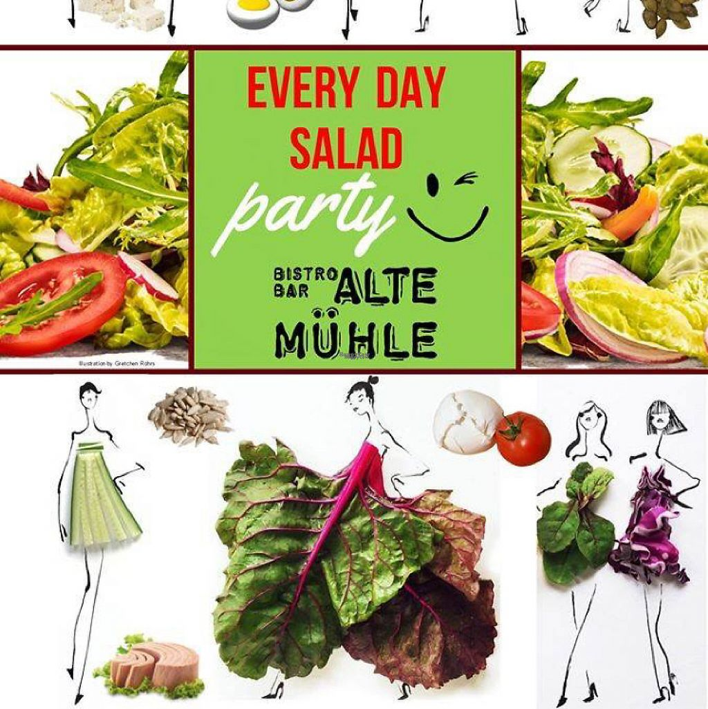 """Photo of Alte Muhle  by <a href=""""/members/profile/alte%20muhle"""">alte muhle</a> <br/>Salad Party ???? <br/> April 13, 2017  - <a href='/contact/abuse/image/64497/247457'>Report</a>"""