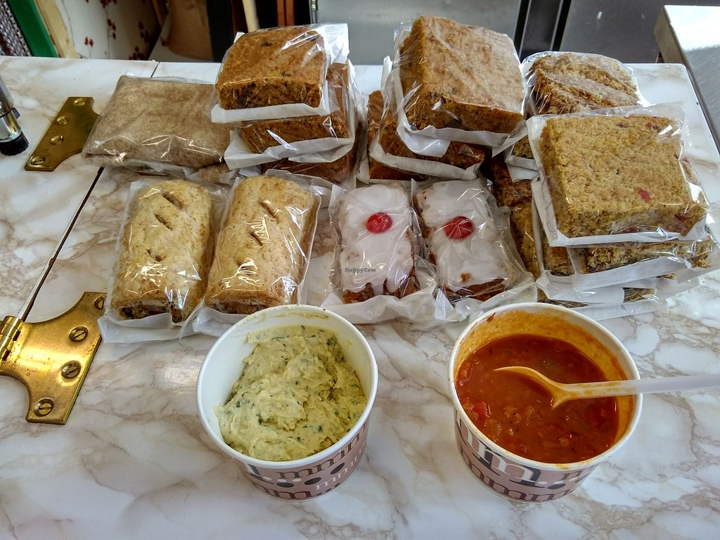 """Photo of Krull's Vegetarian Kitchen  by <a href=""""/members/profile/Roevin46"""">Roevin46</a> <br/>Savouries, Soup, Hummus & more <br/> October 16, 2015  - <a href='/contact/abuse/image/64556/121515'>Report</a>"""