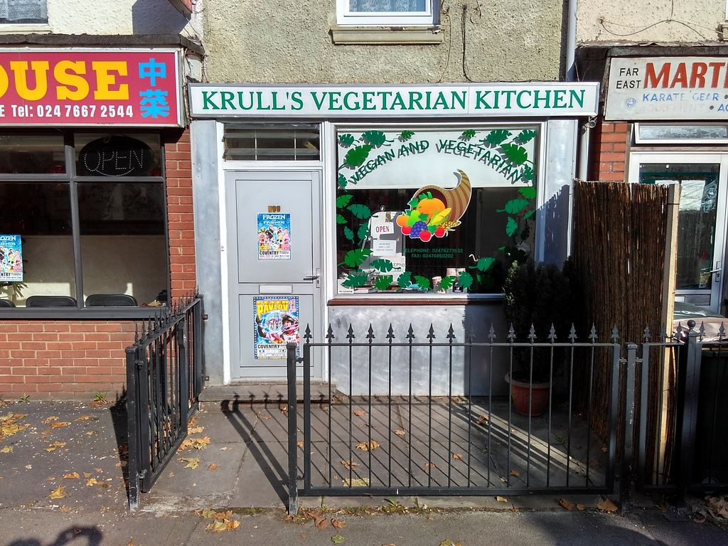 """Photo of Krull's Vegetarian Kitchen  by <a href=""""/members/profile/Roevin46"""">Roevin46</a> <br/>Store Front <br/> October 16, 2015  - <a href='/contact/abuse/image/64556/121516'>Report</a>"""